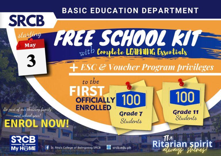 bed free school kit